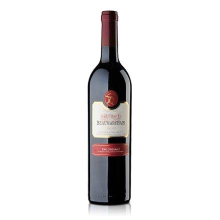 法国博玛干红葡萄酒750ml