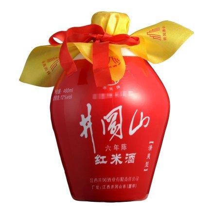 12°井冈山红米酒460ml