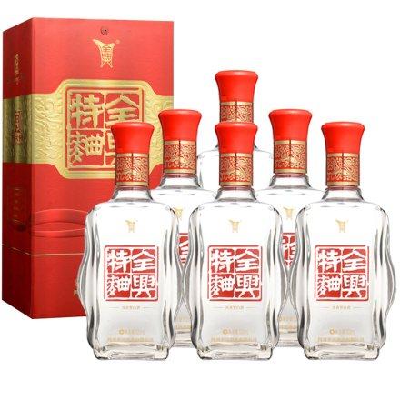 52°全兴特曲500ml(6瓶装)