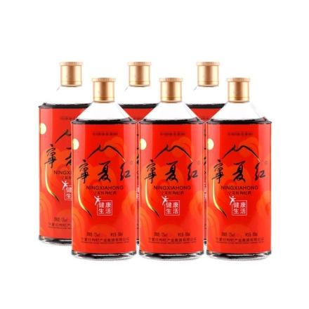 12°宁夏红健康生活500ml(6瓶装)
