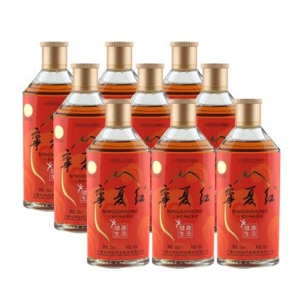 12°宁夏红枸杞果酒健康生活(半干)255ml(9瓶装)