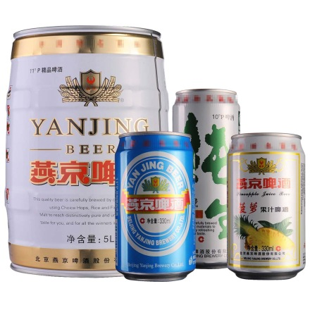 燕京四瓶组合