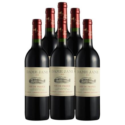 法国杜隆圣母简古堡干红葡萄酒2010 750ml(6瓶装)