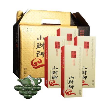 【周末大清仓】45°小财神财神有礼礼盒450ml*4
