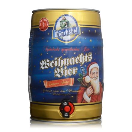 德国猛士圣诞黑啤酒5L