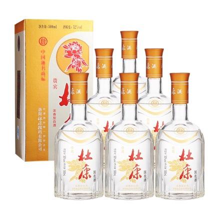52°杜康贵宾国花酒 500ml(6瓶装)