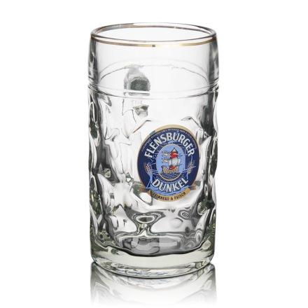 弗伦斯堡玻璃菠萝扎啤杯 1000ml