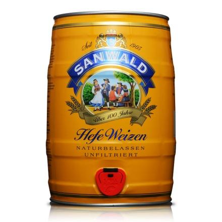 德国斯图加特小麦白啤5L