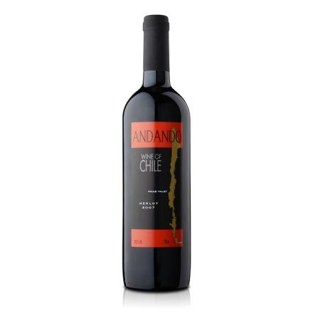 智利品酒汇安丹多美乐红葡萄酒750ml(乐享)