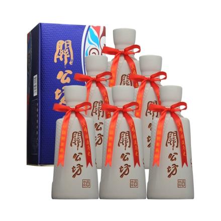 42°关公坊蓝韵 500ml(6瓶装)