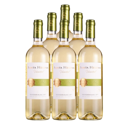 智利圣海莲娜长相思干白葡萄酒750ml(6瓶装)