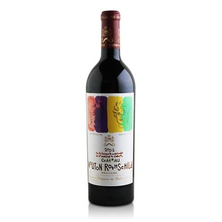(列级庄·名庄·正牌)法国木桐酒庄干红葡萄酒2001(又译:武当)