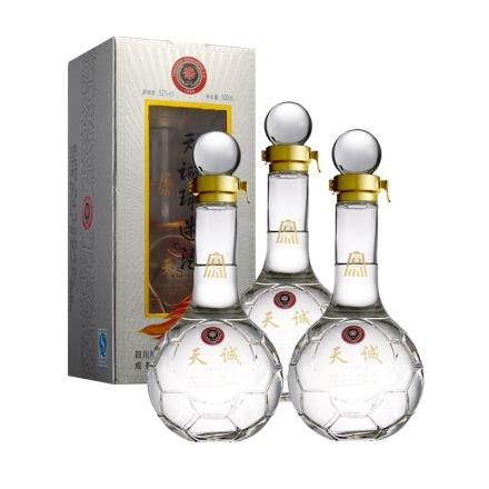 52°天诚球迷酒500ml(3瓶装)