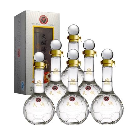 52°天诚球迷酒500ml(6瓶装)
