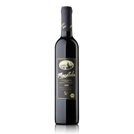 【清仓】西班牙橡木桶陈酿马卡特拉有机干红葡萄酒500ml