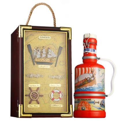 德国弗伦斯堡啤酒瓷瓶装2000ml-创造者+德国弗伦斯堡城堡2000单支礼盒