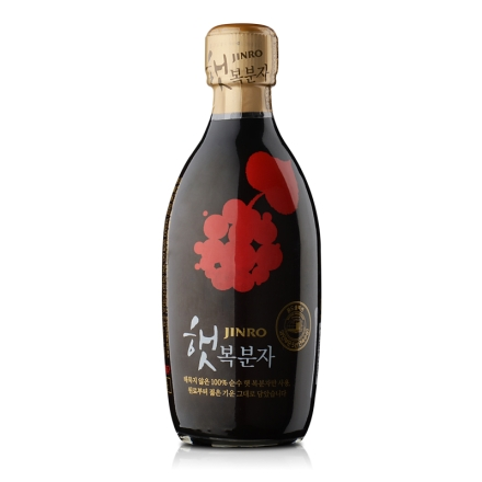 15°韩国真露 覆盆子375ml 滋养保健酒(乐享)