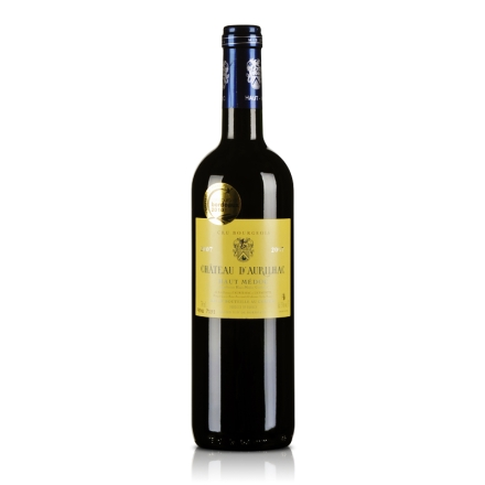法国梅多克中级庄 道瑞尔克古堡2007干红葡萄酒750ml