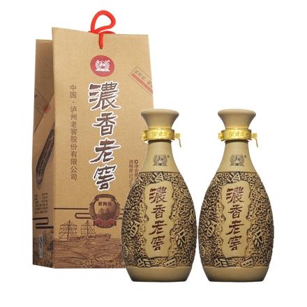 52°泸州老窖浓香紫陶500ml(双瓶装)