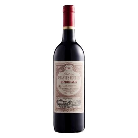 【清仓】法国波尔多AOC美景庄园2011干红葡萄酒750ml