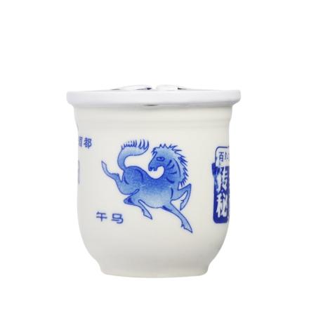 53°黔国小酱酒12生肖版*马100ml(乐享)