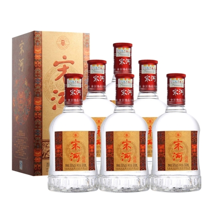 46°宋河老窖500ml(6瓶装)