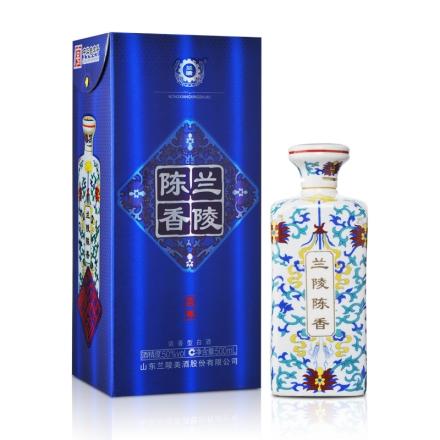 【清仓】50°兰陵陈香蓝尊瓷瓶500ml