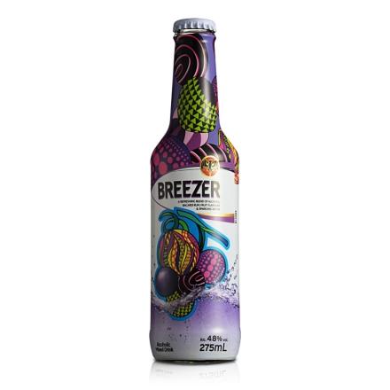4.8°百加得冰锐假日瓶版-葡萄味275ml