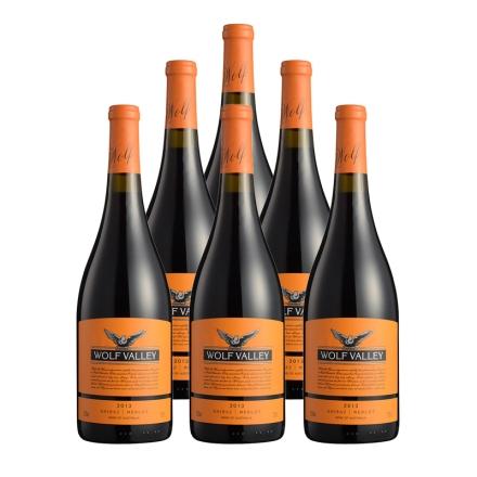 12.5°禾富山谷橙标混合干红葡萄酒750ml(6瓶装)