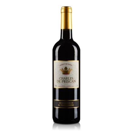 法国查尔斯红葡萄酒750ml