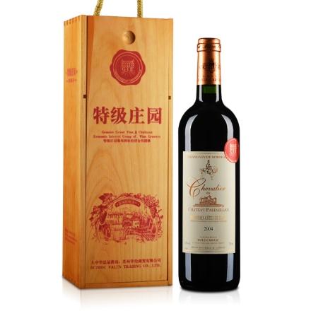法国AOC黛兰骑士干红葡萄酒750ml(木盒)