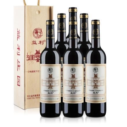 益利梅鹿辄干红葡萄酒礼盒750ml(6瓶装)