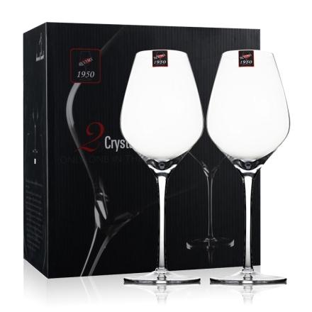 1950纯手工水晶酒杯 波尔多(小)442ml*2