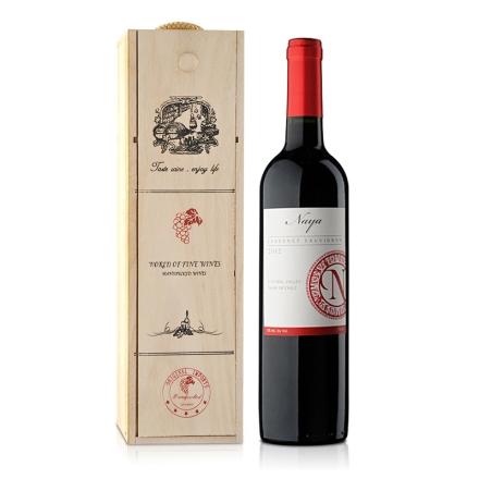 智利娜雅赤霞珠红葡萄酒礼盒750ml