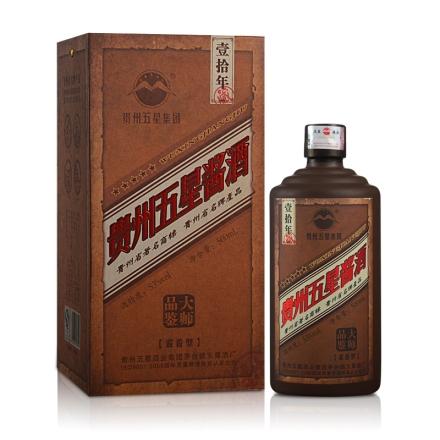 【清仓】53°贵州五星酱酒(10)500ml