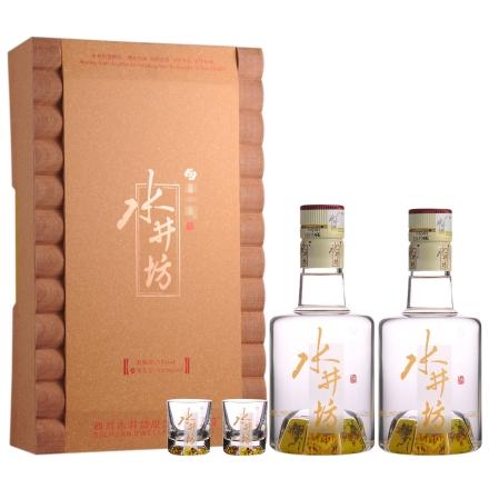 53°水井坊玻晶酒器礼盒250ml*2
