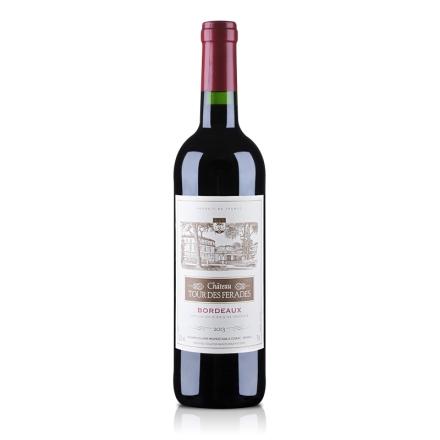 法国波尔多AOC菲拉德城堡干红葡萄酒750ml