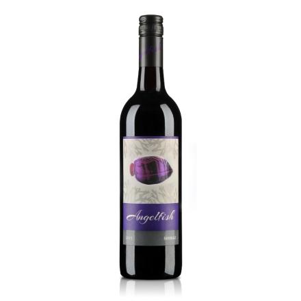 澳大利亚天使鱼珊瑚系列西拉半干红葡萄酒750ml