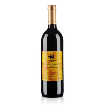 【清仓】西班牙罗马王子情迷巴萨田普兰尼洛干红葡萄酒750ml