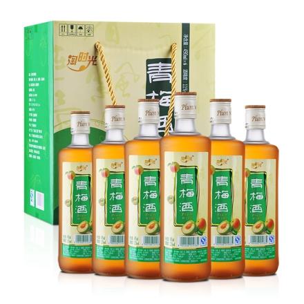 11°淘时光青梅酒490ml*6