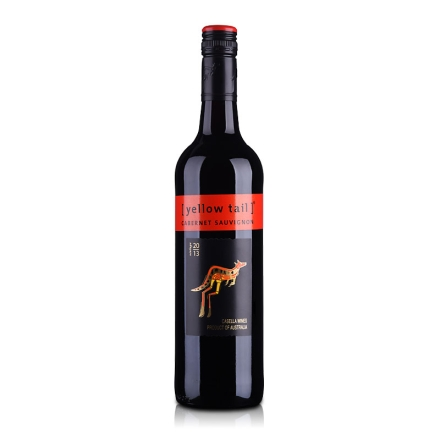 澳大利亚黄尾袋鼠加本力苏维翁红葡萄酒750ml(又名:澳大利亚黄尾袋鼠赤霞珠红葡萄酒750ml)