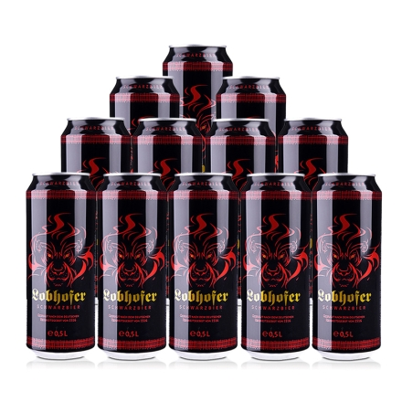 德国欢伯瑞狮黑啤酒500ml(12瓶装)