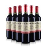 法国勃朗宁古堡干红葡萄酒750ml(6瓶套装)