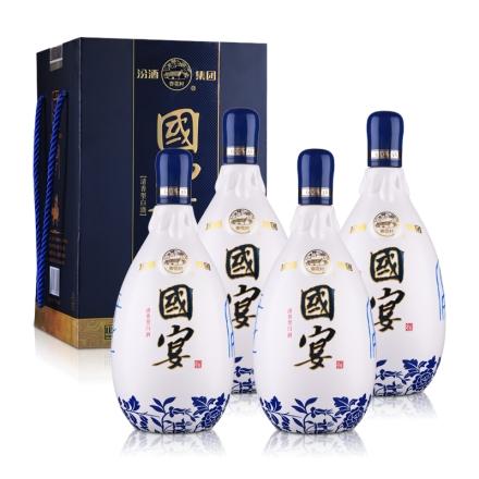 53°汾酒集团晋都·国宴1000ml(4瓶装)
