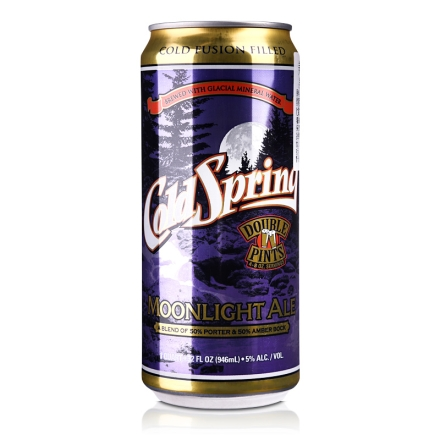 5°美国酷睿月光黑啤酒946ml