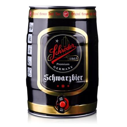 5.0°德国施罗德麦芽黑啤酒5L