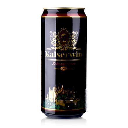 德国凯撒黑啤酒950ml