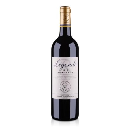法国拉菲传奇 2013 波尔多法定产区红葡萄酒750ml