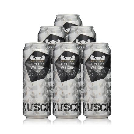 德国库斯特原浆特酿小麦白啤酒500ml(6瓶装)