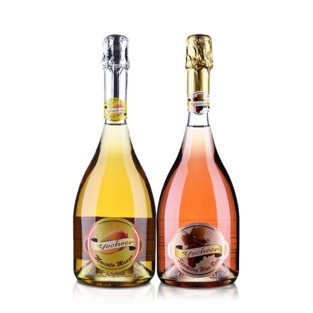 意大利意彩原装进口起泡葡萄酒恩爱套装